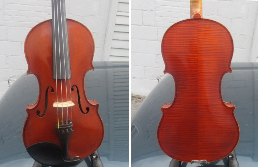 A Violin Shop Schenectady Roth-Lederer, Germany circa 1925. Great tone and condition. $3,500.